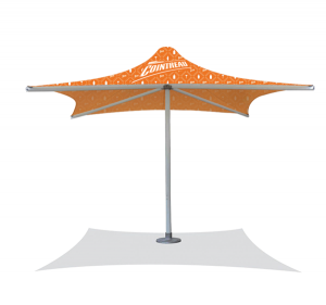 FS-Heavy Duty PVC Umbrella-2x2m