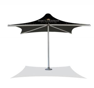 FS-Heavy Duty PVC Umbrella-4x4m